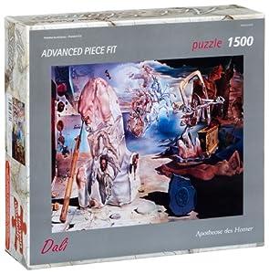 Editions Ricordi 5901N32079 - Puzzle de 1500 Piezas del Cuadro La apoteosis de Homero de Dalí