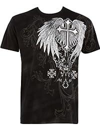 Sakkas Miguel Moto Cross gedruckten Männer Graphic T-Shirt