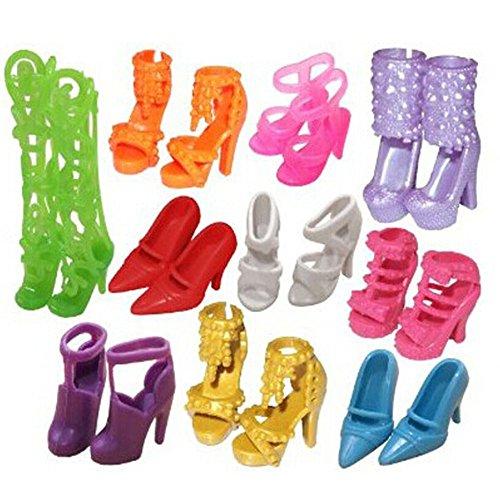 bluelans-10paires-assorties-mignon-poupe-chaussures-pour-poupe-barbie-diffrentes-styles