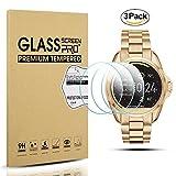 Diruite Displayschutzfolie für Michael Kors MKT5001, Härtegrad 9H für Michael Kors Smart Watch, 3 Stück