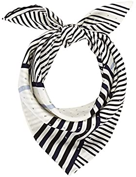 Calvin Klein Silk Logo Foulard Giftpack, Bufanda para Mujer