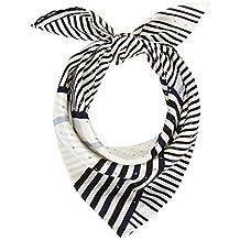 Calvin Klein Silk Logo Foulard Giftpack, Echarpe Femme d8813796f4a