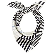 Calvin Klein Silk Logo Foulard Giftpack, Echarpe Femme a765ec5f633