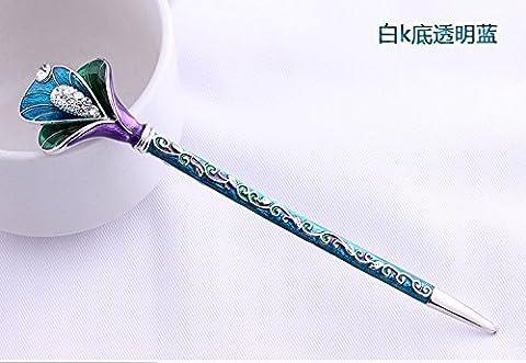 Meisi Hair 1Piece High Quality,6Colors Rhinestone Crystal Antique Hair Sticks,