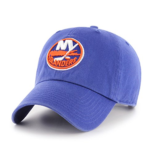 NHL New York Islanders OTS Challenger Adjustable Hat, Royal, One Size