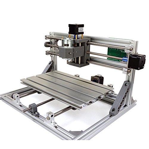 3018 GRBL Control DIY Mini CNC Carving Fräsen Graviermaschine Arbeitsbereich 30x18x 4.5 cm 3-Achs-PCB Fräsmaschine, Wood Router, v 2.5(mit ER11)