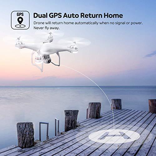 Zoom IMG-3 potensic drone gps telecamera 1080p