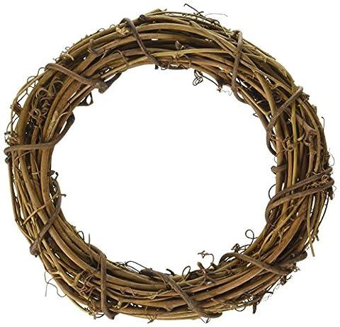 Darice 6-Piece Grapevine Wreaths,