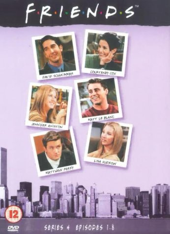 Click for larger image of Friends: Series 4 - Episodes 1-8 [DVD] [1995]
