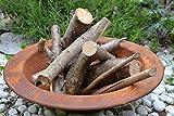 Pflanzschale-Feuerschale mit Brenngel- 40 cm- Metall +Edelrost - große Schale - stabile Ausführung- witterungsbeständig und frostsicher