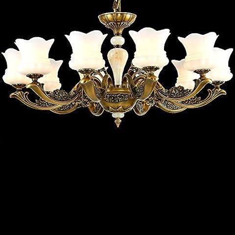 Il nuovo collegamento illuminazione Cu continentale tutti di soggiorno lampadari carattere creativo pranzo lampadario lampadari lampade, 8926 capi di Zhongshan) (8
