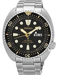Seiko Herren-Armbanduhr Analog Automatik Edelstahl SRP775K1