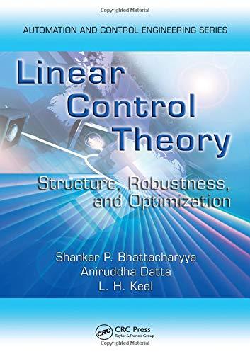 Linear Control Theory (Control Engineering) (Texas Tech Elektrotechnik)