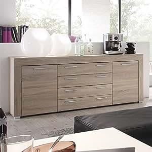 sideboard gego231 eiche s gerau hell nachbildung k che haushalt. Black Bedroom Furniture Sets. Home Design Ideas