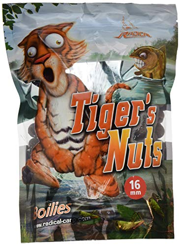 Radical Tiger's Nuts Boilie Ø16mm 1kg, Tigernuts, 16 mm