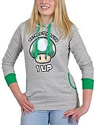 Super Mario Bros - sudadera del champiñón verde