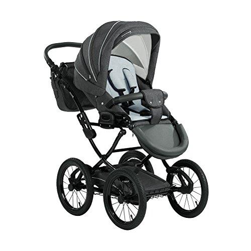 Bild 7: Knorr-Baby 36000-8 Kombikinderwagen Classico, grau