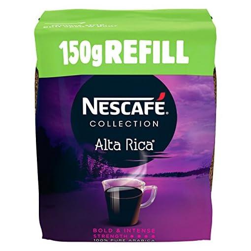 NESCAFÉ GOLD ORIGINS Alta Rica Instant Coffee Refill, 150 g (Pack of 6) 51VB1moFYoL