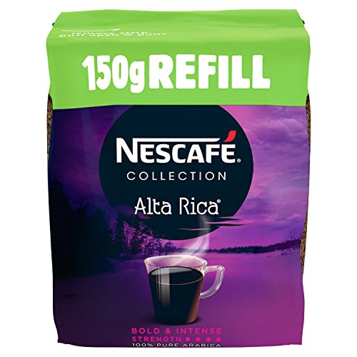 NESCAFÉ Collection Alta Rica Instant Coffee Refill 150 g (Pack of 6) 51VB1moFYoL