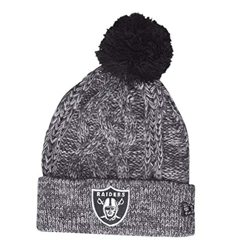 eb23e6b5b9711a Oakland raiders beanie(grey) the best Amazon price in SaveMoney.es