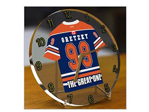 WAYNE GRETZKY THE GREAT ONE - EDMONTON OILERS NHL EISHOCKEY JERSEY UHREN !!!!!