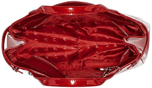 Armani Jeans 922526cc855, Sacs portés main Rouge - Rot (BORDEAUX 00176)