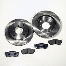 Hyundai Getz OHNE ABS Set 2 Bremsscheiben 4 Bremsbeläge vorne Vorderachse