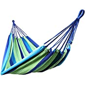 SONGMICS GDC15L, Songmics 210 x 150 cm Hammock for Outdoor Camping Sleeping, Max load: 300 kg GDC15L (Home & Garden)