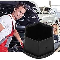 JohnJohnsen 20PCS 17mm Special Socket Car Wheel Auto Hub Tornillo Cubierta Exterior Protección (Color: Negro)
