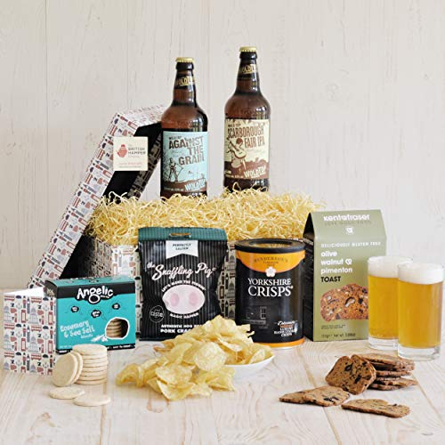 Gluten Free Beer and Snacks Hamper - Gift Card Included