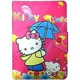 Corcepts Hello Kitty Tablet Flip Cover For IBall Slide Gorgeo 4GL Tablet