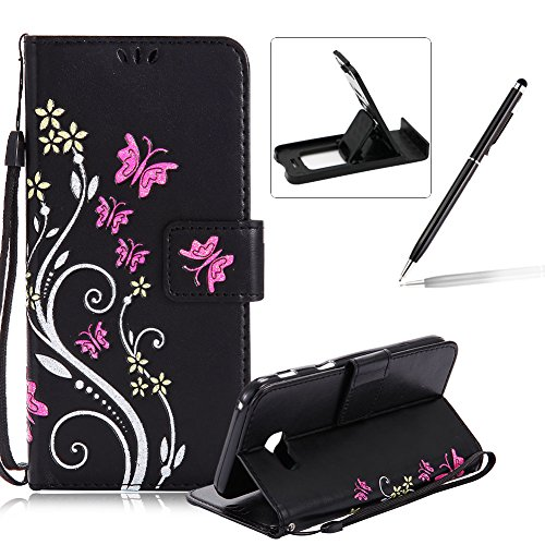 Weave Purple Galaxy Note 8 Case,Samsung Note 8 Wallet Case,Galaxy Note 8 Flip Stand Case,SKYMARS Weave Flower Pattern Embossed PU Leather Flip Kickstand Cards Slot Wallet Magnetic Closure Protection Book Style Case for Samsung Galaxy Note 8 2017
