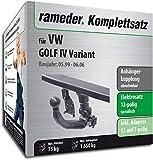 Rameder Komplettsatz, Anhängerkupplung abnehmbar + 13pol Elektrik für VW Golf IV Variant (143344-01995-1)