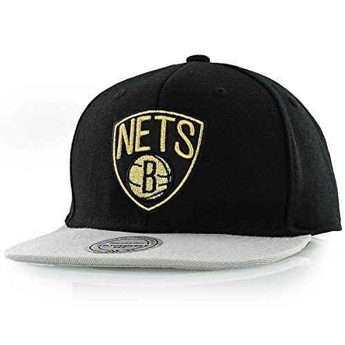 mitchell and ness NBA Brooklyn Nets Baroque schwarz