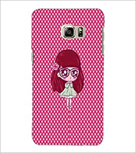 PrintDhaba Cartoon D-4828 Back Case Cover for SAMSUNG GALAXY NOTE 5 EDGE (Multi-Coloured)