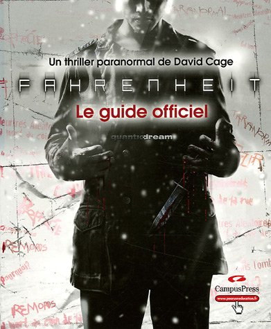 Fahrenheit - Le guide officiel par Quantic Dream