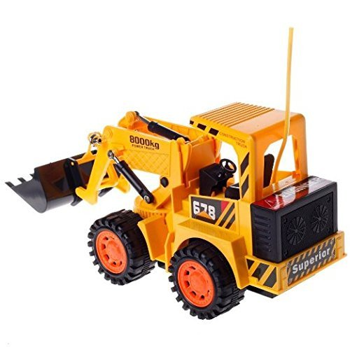 Toyshine Remote Control Jcb Truck Toy 4wheel Drive Big Size