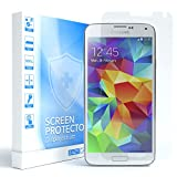 EAZY CASE 1x Panzerglas Bildschirmschutz 9H Härte für Samsung Galaxy S5 / S5 Neo, nur 0,3 mm dick I Schutzglas aus gehärteter 2,5D Panzerglasfolie, Bildschirmschutzglas, Transparent/Kristallklar