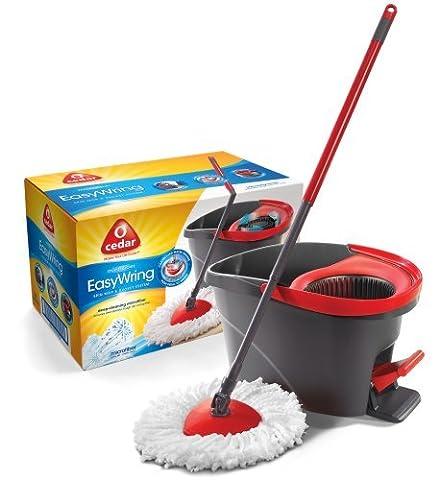O-Cedar Easy Wring Microfiber Spin Mop & Bucket System by O-Cedar