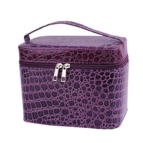 Jia Qing Donne Multifunzionale Portatile Viaggi Attrezzature Cosmetici General-purpose Ad Alta Capacità Sacchetti Cosmetici Purple