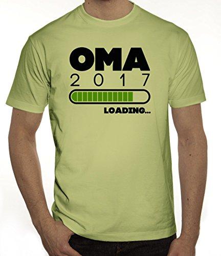 Geschenkidee Herren T-Shirt mit Oma 2017 Loading... Motiv von ShirtStreet Limone