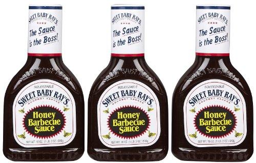 Sweet Baby Ray\'s BBQ Sauce - Honey 3er
