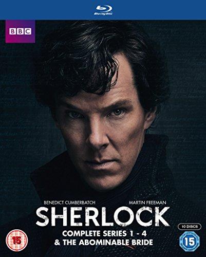 Series 1-4 & Abominable Bride Box Set [Blu-ray]