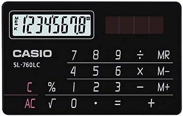 Casio SL760LB/LC Portable Calculator (Black)