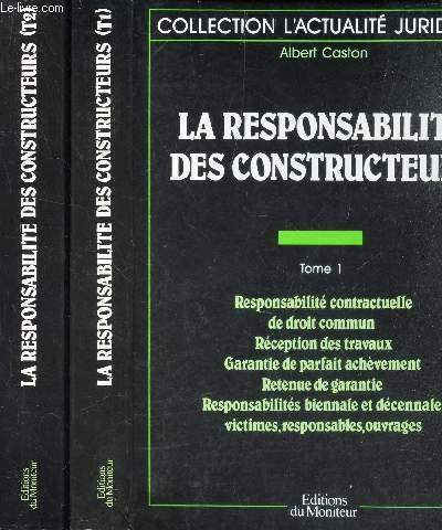 La responsabilite des constructeurs
