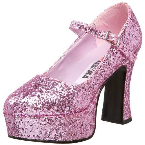 Pleaser Mar50g/r, Damen Mary Jane Halbschuhe, Pink (Baby Pink), 41 EU (8 - Uk Amazon Baby Halloween-kostüme