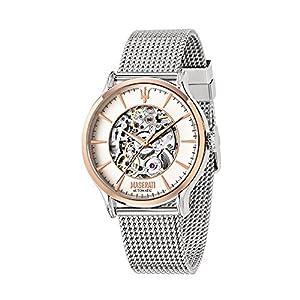 MASERATI R8823118004 – Reloj automático analógico para hombre con