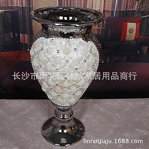 Los floreros de cerámica inicio continental la decoración y el mobiliario son modernos y a la moda en flor 22*20*42