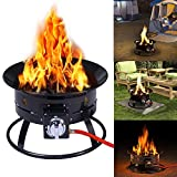 Costway Outdoor Gas Fire Pit Steel Patio Heater - Best Reviews Guide