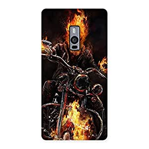 Ghost Multicolor Rider Back Case Cover for OnePlus Two